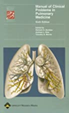 Manual of Clinical Problems in Pulmonary…