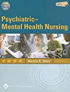 Psychiatric-Mental Health Nursing:…