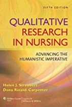 Qualitative Research in Nursing: Advancing…