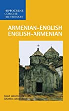Armenian-English / English-Armenian Concise…