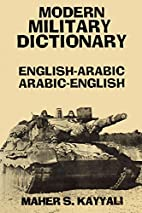 Modern Military Dictionary:…
