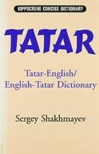Tatar-English/English-Tatar dictionary by…