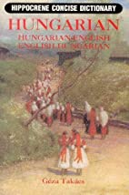 Hungarian-English/English-Hungarian Concise…