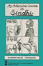 An Intensive Course in Sindhi by Kanhaiyalal…
