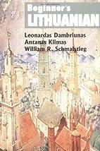 Beginner's Lithuanian by Leonardas…