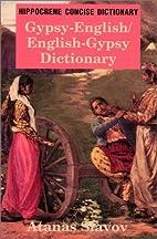 Gypsy-English/English-Gypsy Concise…