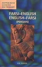 Farsi-English/English-Farsi (Persian)…