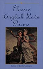 Classic English Love Poems by Emile Capouya