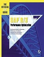 Sap R/3 Performance Optimization: The…