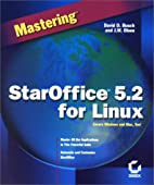 Mastering StarOffice 5.2 for Linux by David…