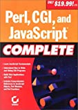 Sybex Inc: Perl, Cgi, and Javascript Complete
