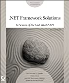 .NET Framework Solutions: In Search of the…