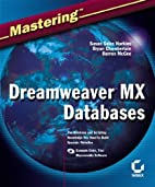 Mastering Dreamweaver MX Databases by Susan…