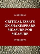Critical essays on Shakespeare's Measure for…
