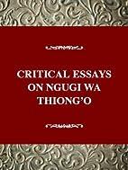 Critical Essays on World Literature Series -…