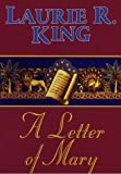 King, Laurie R.: A Letter of Mary: A Mary Russell Novel (G K Hall Large Print Book Series)