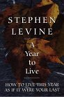 Levine, Stephen: A Year to Live: How to Live This Year As If It Were Your Last (Thorndike Press Large Print Inspirational Series)