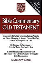 Bible Commentary Old Testament Nelson's…