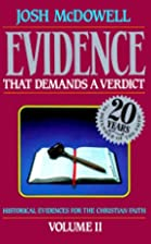 Evidence That Demands a Verdict, 2 by Josh…