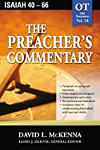 The Preacher's Commentary - Vol. 18- Isaiah…