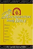 [???]: The Reformation Study Bible: King James Version/Burgundy Genuine Leather/Gilded-Gold