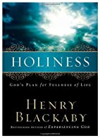Holiness: God's Plan for Fullness of Life by…