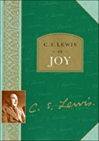 C. S. Lewis on Joy by C. S. Lewis