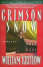 Crimson Snow by William Kritlow