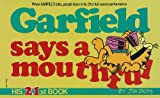 Davis, Jim: Garfield Says a Mouthful
