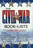 Combined Books: Civil War Book of Lists