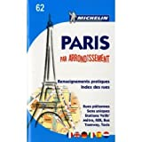 Michelin Travel Publications: MIchelin Pocket Atlas and Map No. 62 Paris