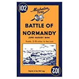 Michelin Travel Publications: Michelin Map No. 102: Battle of Normandy (Multilingual Edition)