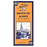 Michelin Travel Publications: Michelin Map No. 104: Battle of Alsace (Multilingual Edition)