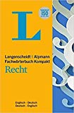 Langenscheidt: English-German Legal and Commercial Dictionary