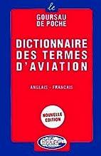 English to French Dictionary of Aeronautics…