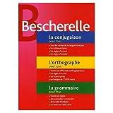 Bescherelle: Etui Bescherelle: Conjugaison - Orthographe - Grammaire (Bescherelle three volumes in a slip case) (French Edition)