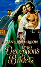 Deception's Bride by Jane Anderson
