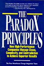The Paradox Principles: How High Performance…