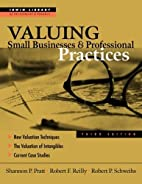 Valuing Small Businesses and Professional…
