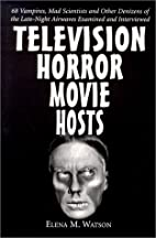 Television Horror Movie Hosts: 68 Vampires,…