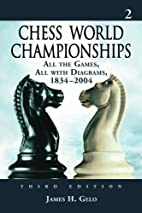 Chess world championships : all the games,…
