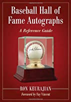 Baseball Hall of Fame Autographs: A…