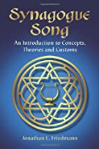 Synagogue Song: An Introduction to Concepts,…