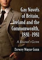 Gay Novels of Britain, Ireland and the…