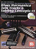 Mel Bay Blues Harmonica Jam Tracks & Soloing…