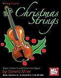 Donald Miller: Mel Bay presents Christmas Strings: Viola, Violin 3 & Ensemble Score