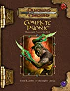 Complete Psionic by Bruce R. Cordell