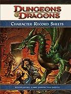 Dungeons & Dragons Character Record Sheets:…