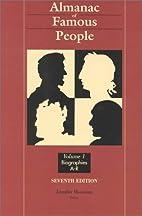 Almanac of Famous People by Jennifer Mossman