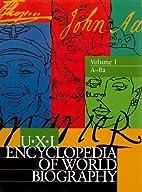 UXL Encyclopedia of World Biography by Laura…